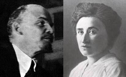 Rosa Luxemburg and lenin